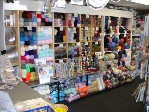 Inside the Shop - Yarn