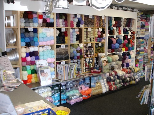 Inside the Shop - Yarn