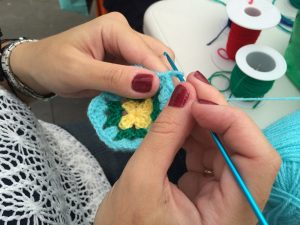 Knit and Natter - crochet