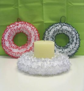 Wreaths/table centres - 17cms diameter