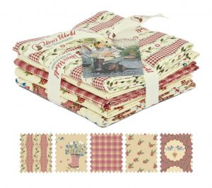 Fabric Fat Quarter Bundle 5