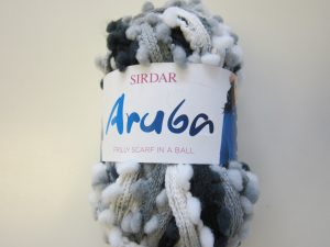 Sirdar Aruba 100g Black-Grey